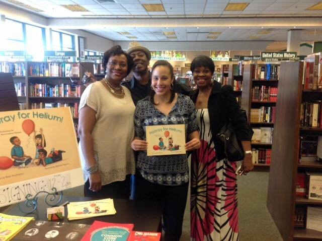 Book Signing Picture with Aunt Wanda